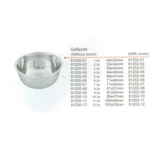 Bowl 60ml 53x34mm