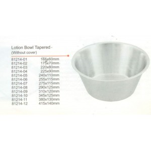 Bowl lotion 220x80mm 2lt