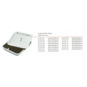 Δίσκος inox με καπάκι 230x155x30mm