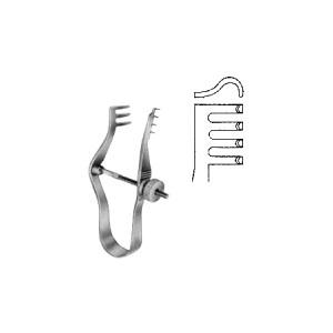 Άγγιστρα τραυμάτων Finsen 7cm