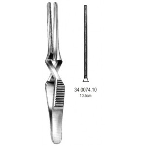 Άγγιστρα αγγείων ευθεία DeBakey 10.5cm