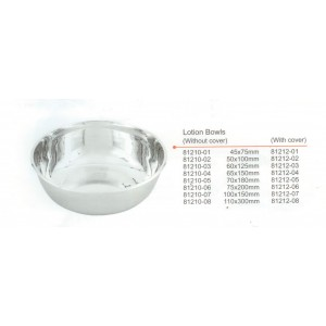 Bowl lotion 50x100mm 250ml