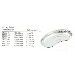 Νεφροειδές inox 300x50mm
