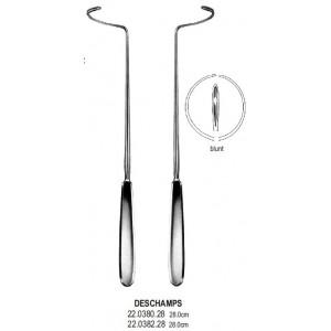 Deschamps βελόνα επιδέσμου αμβλέα δεξιά 28cm